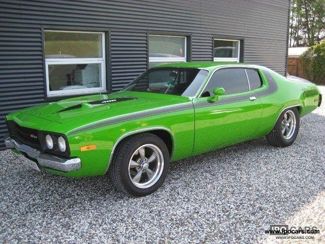 1973 Plymouth Roadrunner 6.6 400cui. Big Block V8 Car