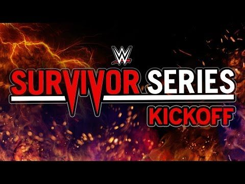 nice VIDEO: WWE Survivor Series Pre-show
