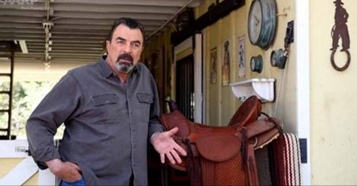 Actor Tom Selleck has had a love-hate relationship with the…