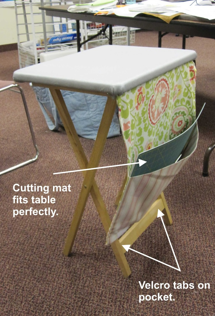I think I need to add this to my portable ironing table I recently made.  Love it!