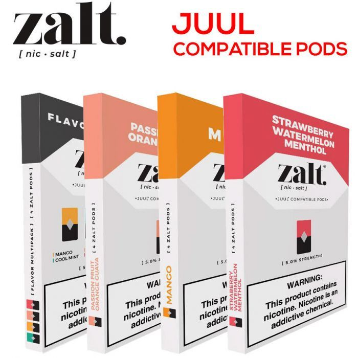 Zalt Pods Juul Compatible Pods Pods Things To Do At A Sleepover Vape