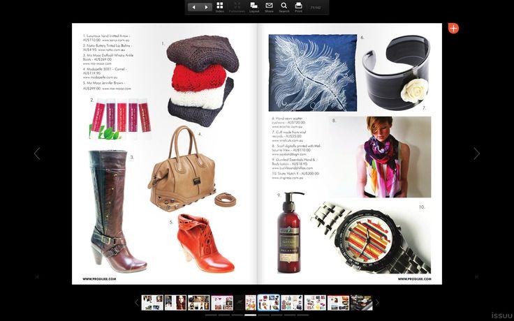 Gumleaf Essentials Relaxing Moisturising Lotion feature - Prodijee Magazine, Issue 18 2014