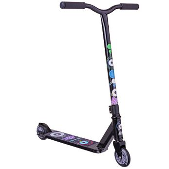 This is a nice little scooter that is very light weight, and a good design for smaller kids. It rolls very smoothly, has soft grips and is a great one for learning on. Made of good quality parts so it won't fall apart before the kids have finished having fun with it!