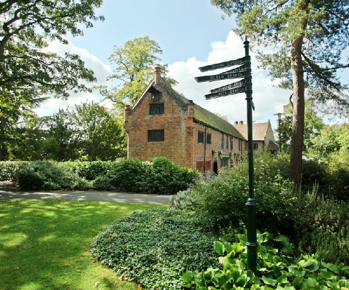 Tudor Barn Eltham Is Situated In 13 Acres Of The Beautiful Well Hall Pleasaunce And Surrounded By A Meval Moat Wedding Venue