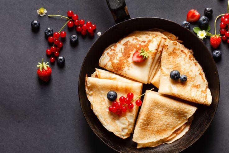 Nyttiga pannkakor - 5 recept med protein som inte smakar pyton