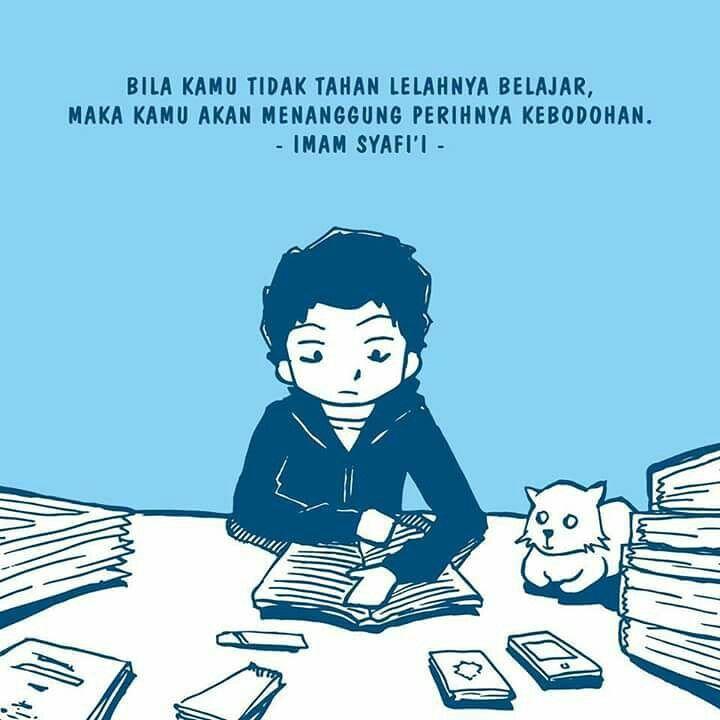 Jangan lelah belajar