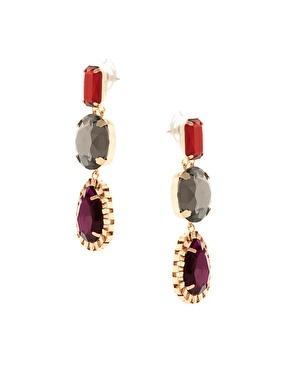 ASOS Gemstone Drop Earrings