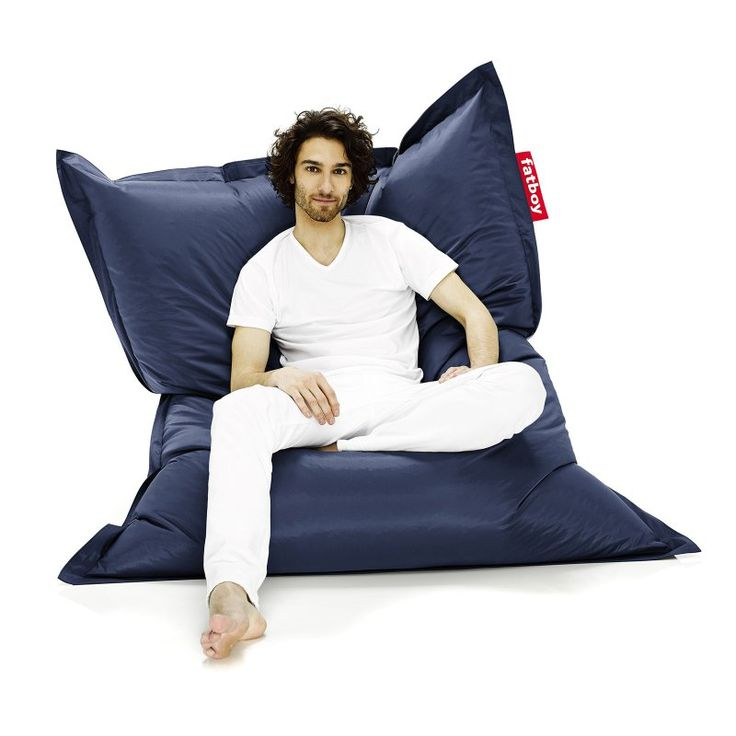 Fatboy Original 6-Foot Extra Large Bean Bag Chair Blue - ORI-BLU