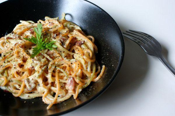Spaghetti alla carbonara - Kuchenny Majstersztyk