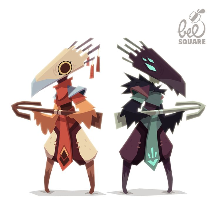 +z!Nkase+: More character design for video game