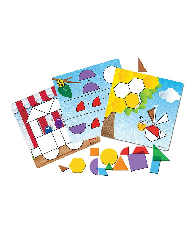 Look at this Shapes Don't Bug Me Geometry Set on #zulily today!