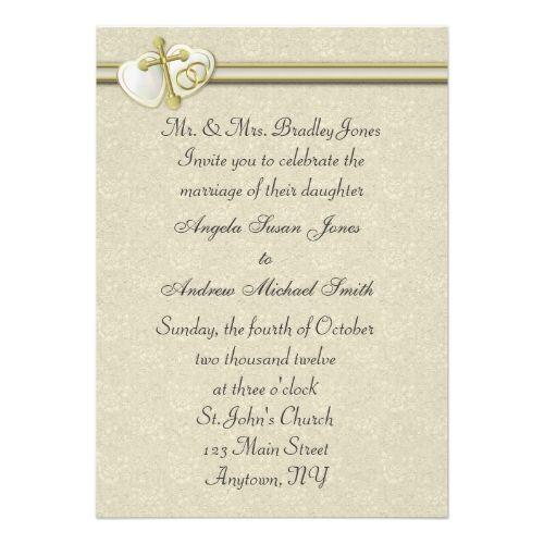 catholic wedding invitation christian wedding invitation - Catholic Wedding Invitations