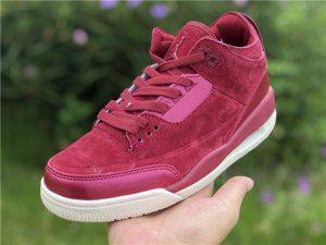 official photos f6fed 79259 Womens Air Jordan 3 Retro Bordeaux AH7859-600 Basketball Shoes
