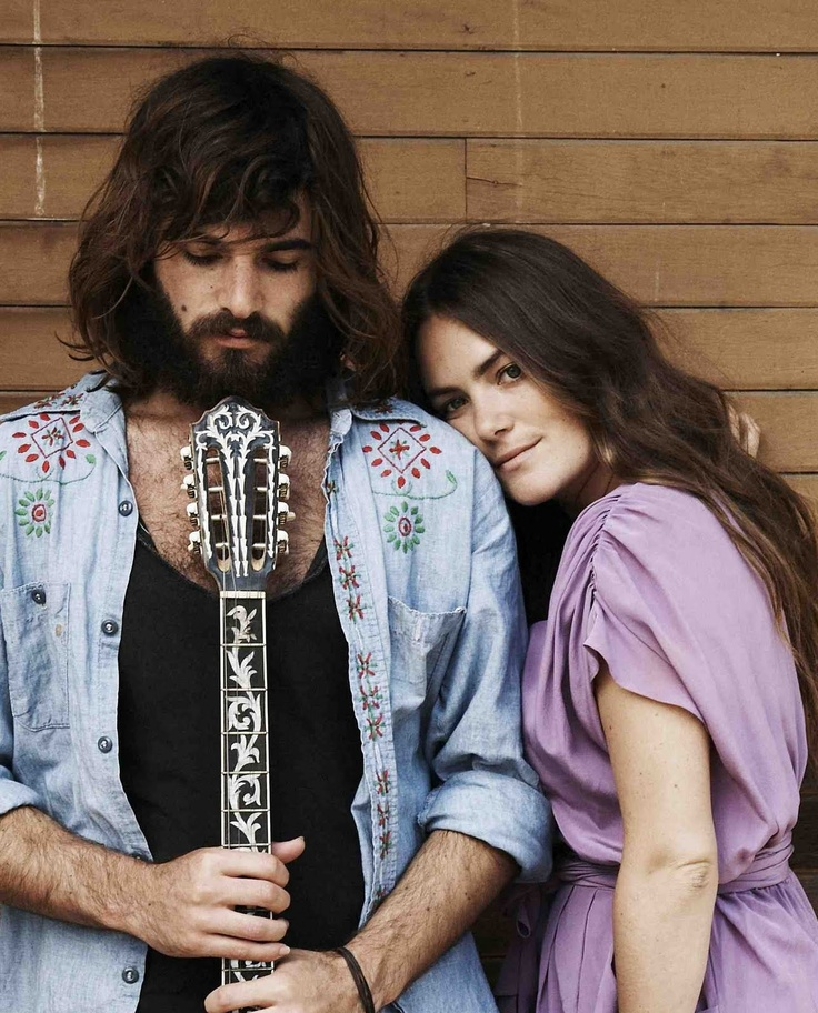 Angus And Julia Stone. Both very unique voices, with equally as good solo albums.
