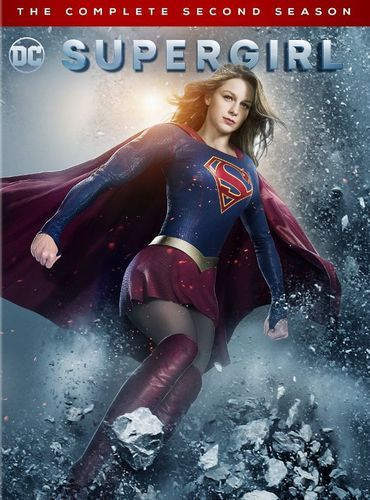 Supergirl: The Complete Second Season [5 Discs] [DVD]