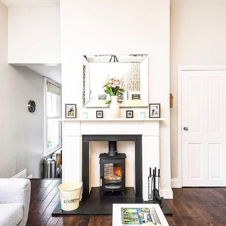 Some things are best kept simple - @charnwoodstoves C-Four in a great looking living room! 👌🔥#fireplace #woodburningstove #thestovesfamily.📷@sequenceuk  #Regram via @bonkandco