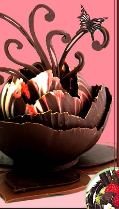 Learn how to make chocolate decorations