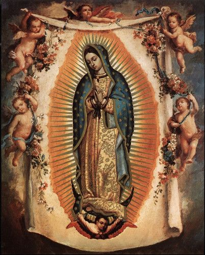 """8"""" x 10"""" Catholic Art Picture Print Blessed Virgin Mary OUR LADY OF GUADALUPE"""