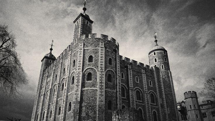 White Tower London.  Белая башня. Лондонский Тауэр. Одна из главных достопримечательностей города, важнейший исторический и архитектурный памятник Великобритании