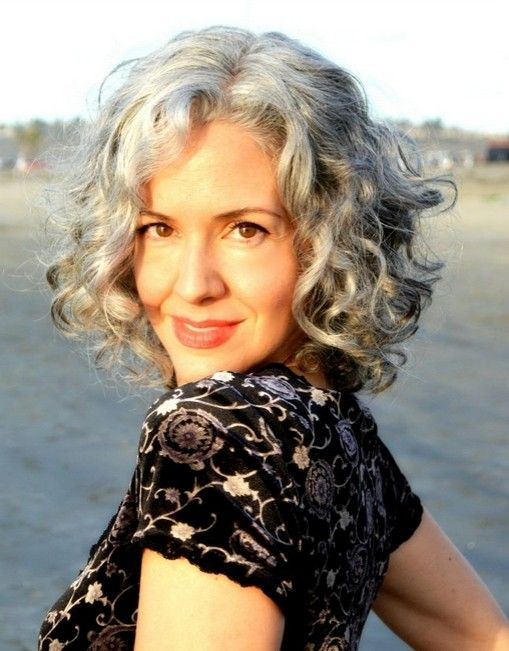 Incredible 1000 Ideas About Curly Gray Hair On Pinterest Gray Hair Going Short Hairstyles For Black Women Fulllsitofus