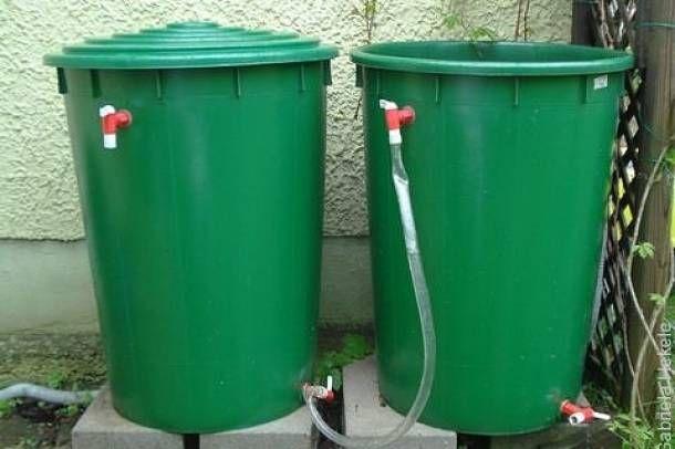 Vízgyűjtés esővízből / Water collection from #rainwater