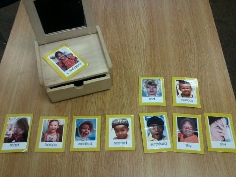 montessori peace shelf: emotion pics. / mirror: Peace Shelf, Montessori Peace, Feelings Printable, For Kids, Emotional Cards, Montessori Classroom, Emotional Feelings Cards, Free Printable, Montessori Workjob