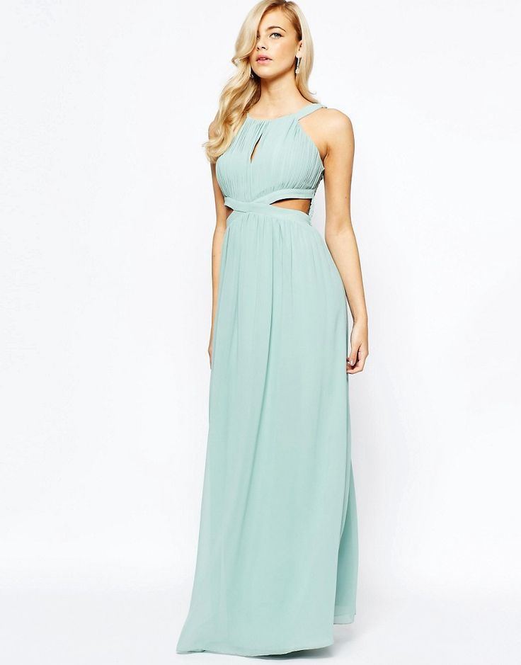 Kaliko knot detail maxi dress