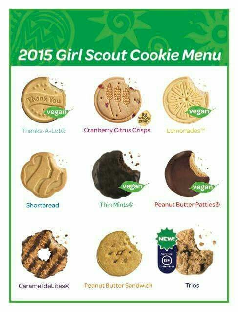 Meet The Cookies - Girl Scouts of Eastern Massachusetts