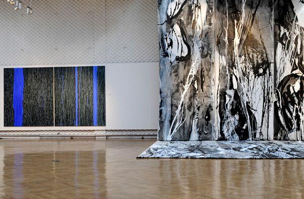 "Exhibition ""Lines - independent painting beings"" - Urszula Wilk"