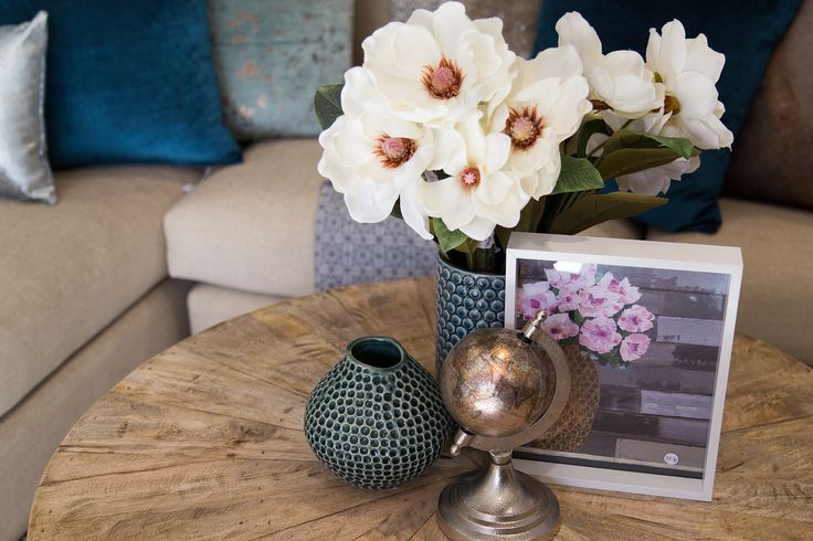 Styling your coffee table.