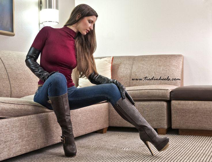 Afbeeldingsresultaat voor sexy women with boots #highheelbootsandjeans #shoeshighheelsunique