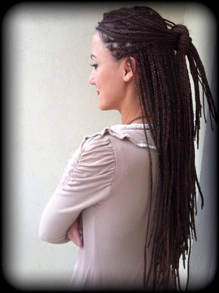 Zenci örgüsü, black hair braids, boxbraid, braidart