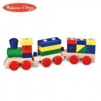 Melissa & Doug Wooden Stacking Train at My Kids Room