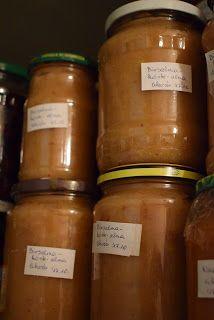 Süti és más...: Birsalma-körte-alma lekvár