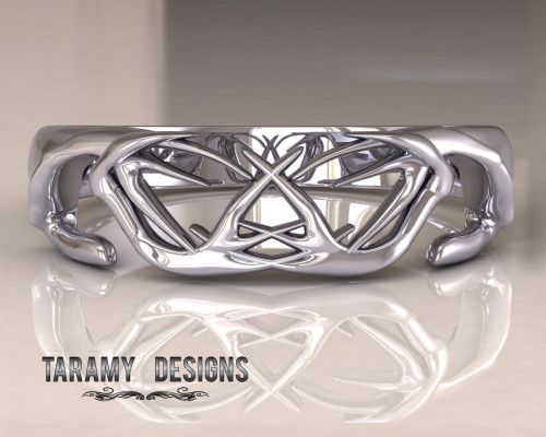 american sportsman jewelry antlered this would be a great wedding band - Country Wedding Rings