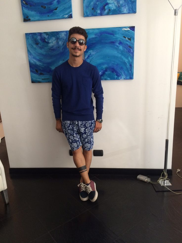 #Moreno in total look #ObviousBasic #Summer #SS15 #PE15 #menstyle #menfashion
