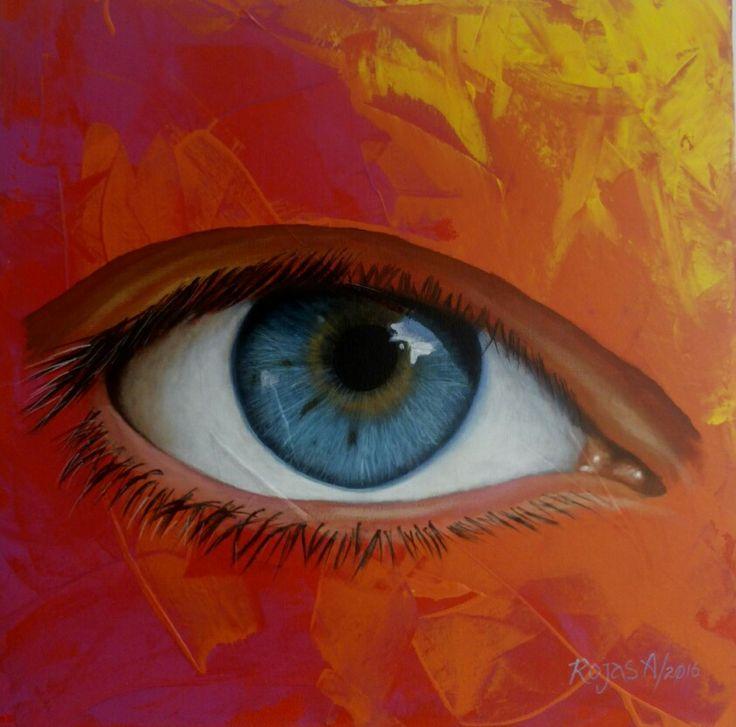 #art #acrylic #Painting #Eyes #RojasA