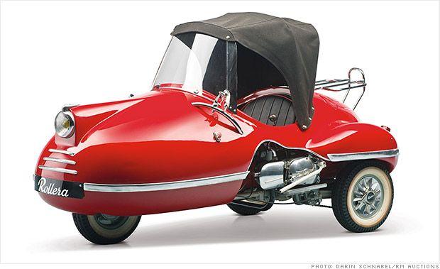 Microcars worth big bucks at museum auction - 1958 Rollera (12) - CNNMoney