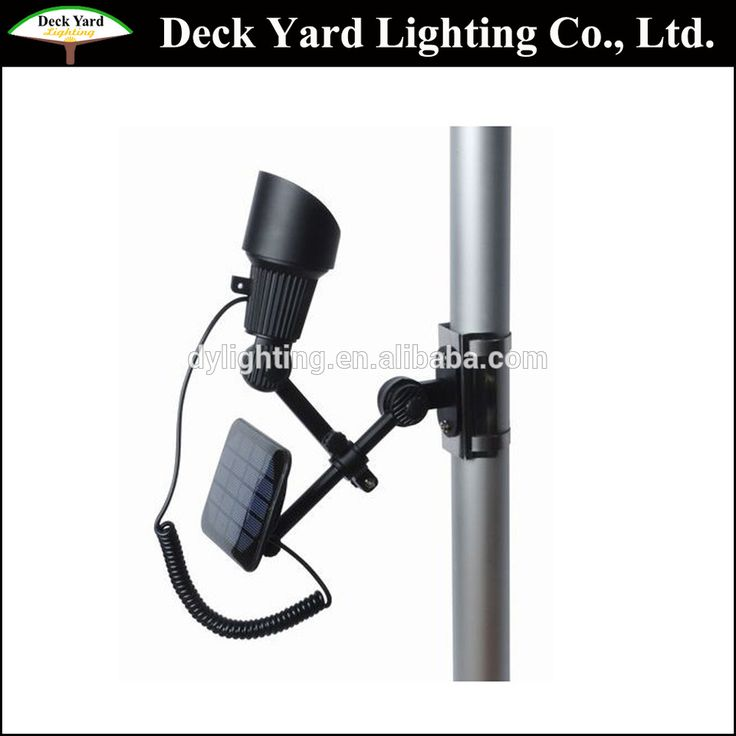 American Solar Flagpole Light Outdoor Garden Led Flag Pole Lights