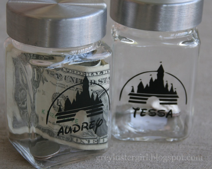 45 best images about disney vacation savings on pinterest for Cute money saving jars