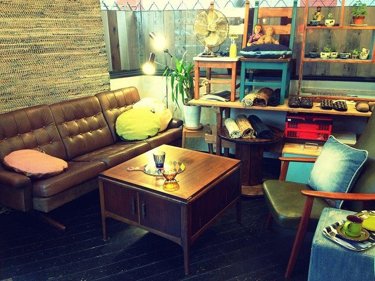 アメリカ・ヨーロッパのアンティーク、ビンテージアイテム、家具・インテリアをMIXスタイルで提案。仙台本町