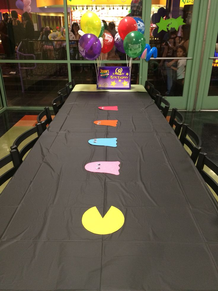 57 Best Pac Man Party Theme Images On Pinterest