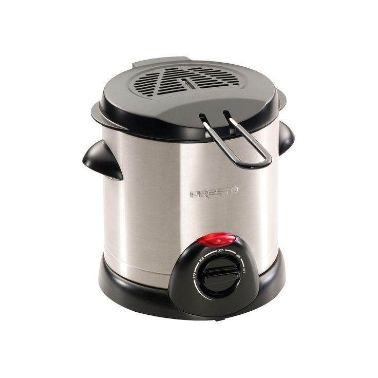Presto Electric Deep Fryer - Silver (1 liter)- 05470