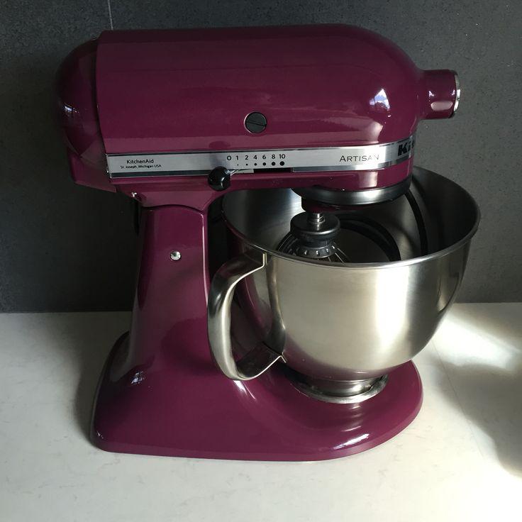 Kitchenaid KSM150 Mixer #kitchenaid #ksm150 #boysenberry