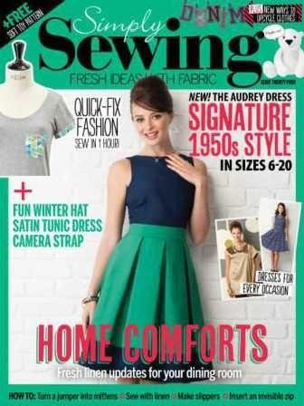 Simply Sewing №24 2016 скачать бесплатно
