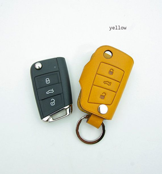 Handmade Remote key cover fob case chain for VW by Handmade7shop