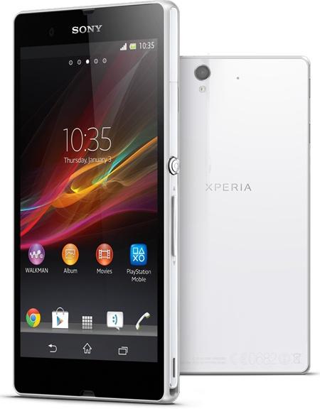 Sony Xperia Z Beyaz.