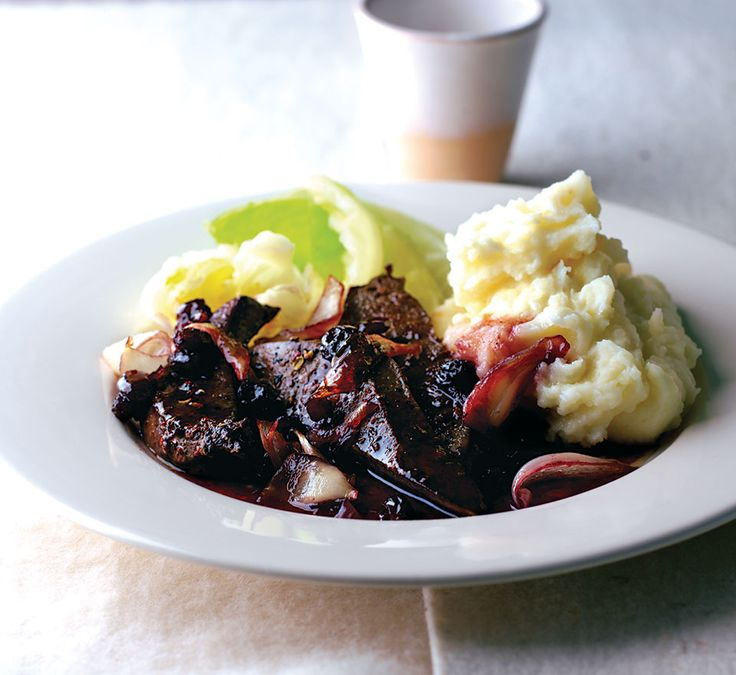 Liver is a great source of iron,and this lambs' liver recipe is sticky sweet thanks to the onions, port and raisins.
