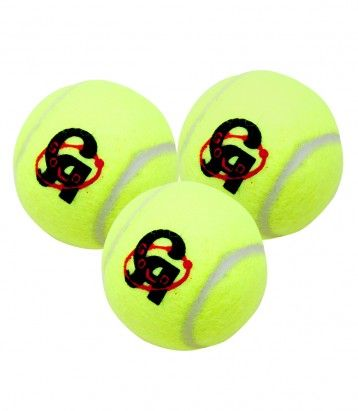 3 CA Gold Tennis Balls Color Availability :Yellow Size : Standard  Type :Sports