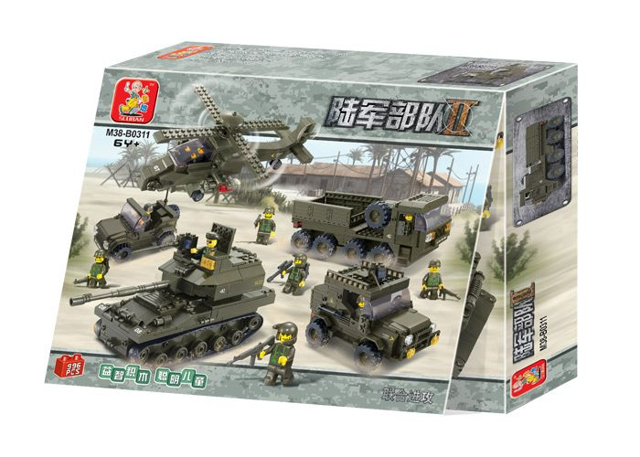 Sluban Lego Tank Military